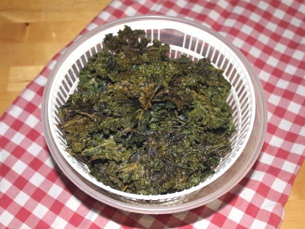 Knusprig zarte Grünkohl Chips Kale Vital for your life vitalvoryourlife