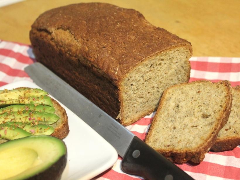 Kartoffeln Dinkelvollkorn Brot mit Chiasamen Vital for your life vitalforyourlife