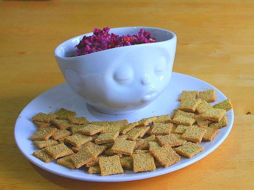Orientalischer Rotkohlsalat Blaukraut Rotkraut Rotkohl Rezept Vital for your life vitalforyourlife