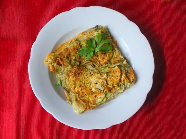Zucchini Aubergine Süßkartoffel Auflauf Rezept Vital for your life vitalforyourlife