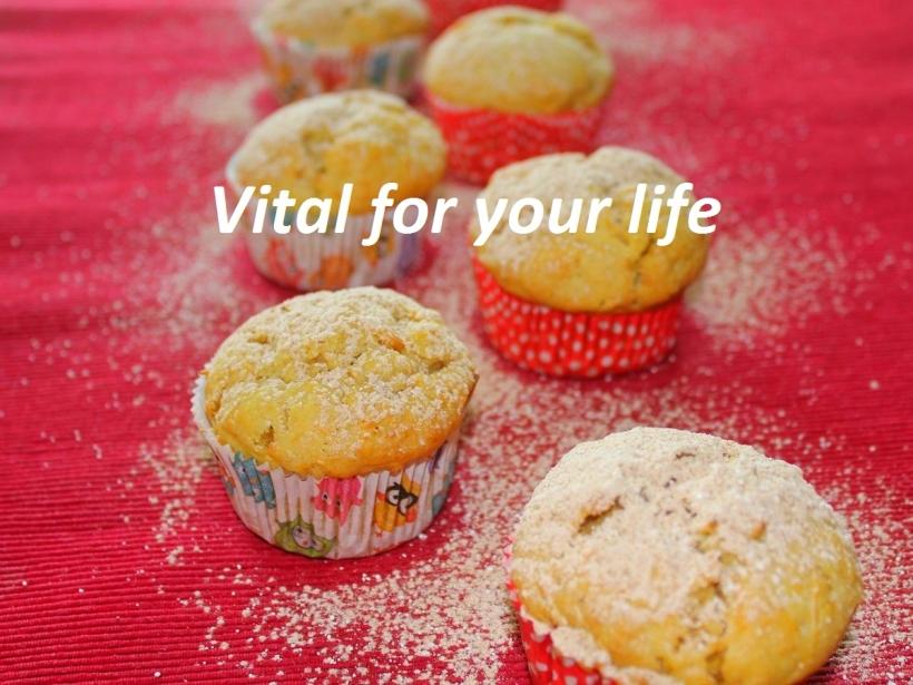 Hokkaidokürbis Muffins Rezept Vital for your life vegan food blog vitalforyourlife.com