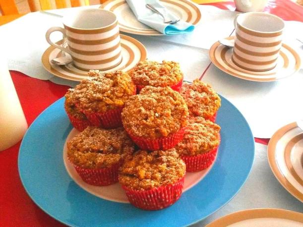 Piñita Colada Muffins Rezept vollwertig, zuckerfrei, vegan Vital for your life vitalforyourlife