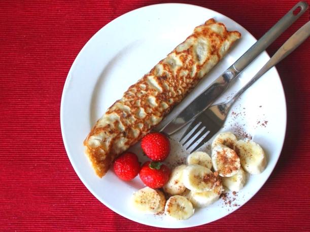 Vegane Eierkuchen ohne Zucker Rezept Vital for your life vegan food blog vitalforyourlife.com