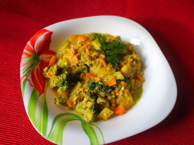 Indisches Kartoffelcurry von Vital for your life Vegan Food Blog