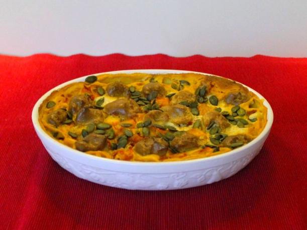 Muskat Kürbis Lasagne Rezept von Vital for your life Vegan Food Blog