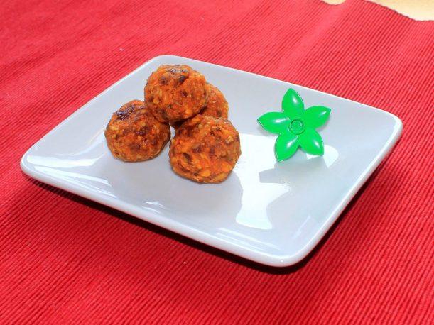 Süßkartoffel Mango Kokos Energiekugeln Rezept von Vital for your life Vegan Food Blog