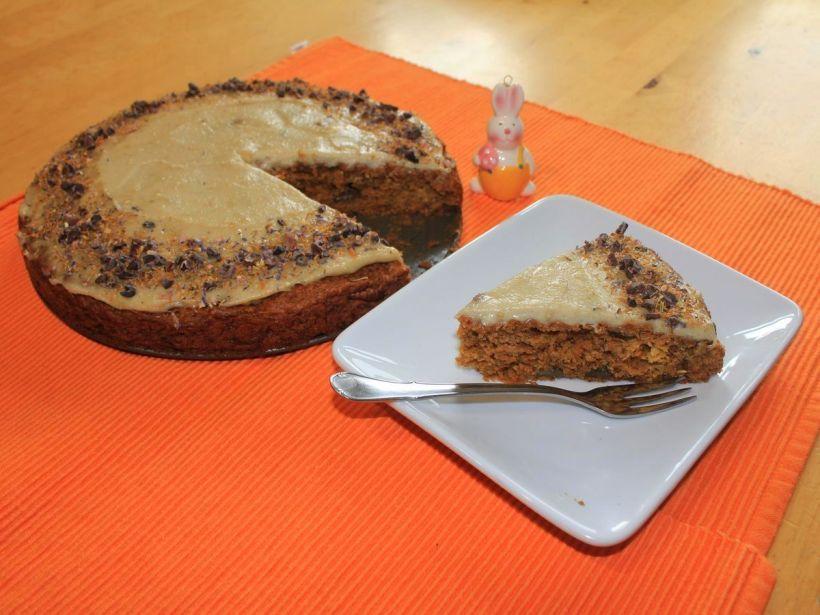 Möhrenkuchen mit Pekannuss von Vital for your life
